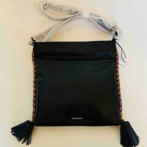 Rebecca Minkoff Chase Convertible Hobo Bag Black